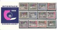 GERMANIA 1962 Berlino - Antiche Vedute - Serie Completa Presentation Pack Integro - Unused Stamps