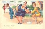HUMORISTIQUE FEMME FORTE IL M'EST TRES ATTACHE - Humor