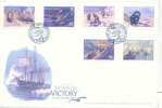 2007 MAN  Victory VOYAGE TO THE NORTH POLE FDC - Isola Di Man