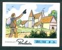 """Chromo, Chocolat POULAIN : Série 183, N° 56, Chanson """"Mon Val De Loire"""", Eglise... - Poulain"""