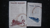 11ZA/1 - Publicité Jouet Train Hornby - Publicités