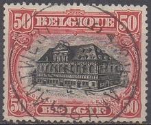 BELGIQUE  N°144__OBL VOIR SCAN - 1915-1920 Alberto I