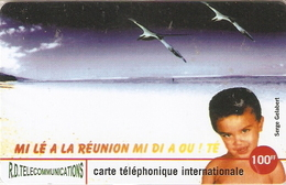 *IS. REUNION* - Scheda NUOVA (MINT) In Blister - Riunione