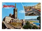 Marseille: La Vierge De La Garde, Quai Des Belges, Promenade De La Corniche (11-2510) - Endoume, Roucas, Corniche, Plages