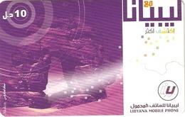 *LIBIA* - Scheda Telefonica Usata - Libya