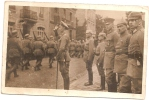 CPA CARTE PHOTO SOLDATS ALLEMANDS WERMARCHT NON SITUEE RARE BELLE CARTE !! - To Identify