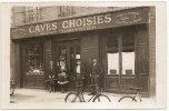 CPA 51 CARTE PHOTO CAVES CHOISIES MAISON CHARPENTIER VINS DE CHAMPAGNE NON SITUEE   RARE BELLE CARTE !! - Unclassified