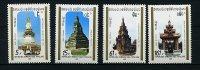 Laos ** N° 936A à 936D - Monuments Historiques - Laos