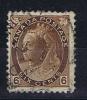 Canada: 1898, Victoria Michel 68A ,  6 C Braun - 1851-1902 Regering Van Victoria