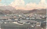 MINDELLO S. VICENTE CABO VERDE CPA CIRCULEE 1906 A L'ARGENTINE TIMBRES ARRACHES PRECURSEUR RARE - Kaapverdische Eilanden