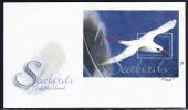 Norfolk Island Scott #858 FDC Souvenir Sheet $4 Red-tailed Tropicbird - Seabirds - Ile Norfolk