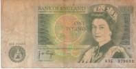 BILLET BANK OF ENGLAND ONE POUND - Gran Bretagna