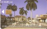 Nº 146 TARJETA DE CUBA DE LA PLAZA MAYOR - Cuba