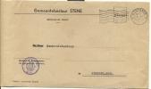 Omslag Enveloppe Gemeente Stene 1967 - Non Classés