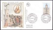 FDC (GF-PJ) - Bicentenaire De La Mise En Service Du Télégraphe Optique Chappe - N° 2815 (Yvert) - France 1993 - 1990-1999