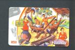 MALDIVES  -  Chip Phonecard As Scan - Maldiven