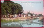 Dep 45 , Cpa FAY Aux LOGES , Les Bords Du Canal , Le Pont  (07) - Francia