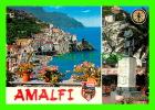 AMALFI, ITALIA - 2 MULTIVIEW - ED. VINCENZO CARCAVALLO - - Salerno