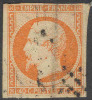 # France   18a, Used,   SCV$ 20.00    (fr018-7, Michel 15, - 1853-1860 Napoleon III
