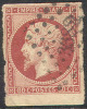 # France 19, Used,  Sound,  (fr019-20,  Michel 16 [16-HB - 1853-1860 Napoleon III