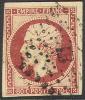 # France 19, Used,almost 4 Margins, Sound,  (fr019-23,  Michel 16 [16-HB - 1853-1860 Napoleon III