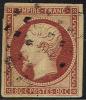 # France 19, Used, 4 Margins, Sound, (fr019-34, Michel 16 [16-HB - 1853-1860 Napoleon III