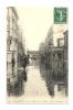 Cp, 75, Paris, Inondations De Janvier 1910, Rue De Lourmel, Voyagée - Paris Flood, 1910