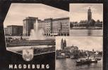 B38927 Magdeburg Multiviews Used Perfect  Shape - Magdeburg