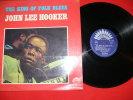 JOHN LEE HOOKER   THE KING OF FOLK BLUES   EDIT AMERICA - Blues