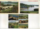 3 CPM - LA COURNEUVE (93) Parc Départemental (train Touristique) - La Courneuve