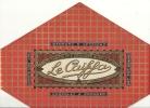ETIQUETTE PAQUET CHOCOLAT .  CAIFFA - Publicidad