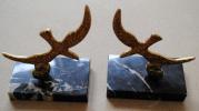 SERRES LIVRES D'APRES LES OISEAUX DE GEORGES BRAQUE EN BRONZE SOCLE EN MARBRE - Bronzes