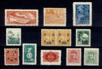 12  DIVERS TIMBRES  DE  CHINE  NEUFS  N203 - 1949 - ... People's Republic