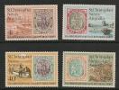 St Christopher Nevis Anguilla 1973 70th Anniv St Kitts Nevis Stamps - St.Christopher, Nevis En Anguilla (...-1980)