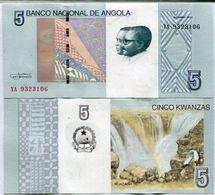 ANGOLA 5 KWANZAS 2012 (2017) P. NEW UNC - Angola