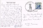 1153. Postal CAPTIVA (Florida) 1968. Tropical Island - United States