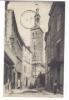 Cpa, Niort, La Rue St Gelais Et Le Beffroi - Niort