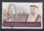 Qatar 1968 Mi. 347     60 D Scheich Ahmed Bin Ali Al-Thani & Eröl-Verladehafen - Qatar