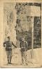 CPA-1930-DOUANIERS-FRANCA   IS  Et ITALIEN-FRONTIERE De  MENTON-BE - Douane