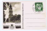 Deutsche Reich: Postkarte 1941 M 762, Briefmarken Werbeschau Postsdam, Garnisonkirche , Tag Der Briefmarken Stempel - Interi Postali