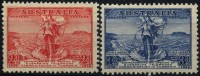 AUSTRALIA 1936 - SG#159-160 MNH (**) - SUBMARIE CABLE TO TASMANIA - QUALITY *LUXE* - 1913-36 George V : Autres Motifs