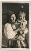 Folklore V.6. VAZEC (Zupa Liptovska) Zena S. Dietatom Fot. Karel Plicka C. 1924 - Slovacchia