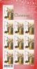 Australia-2011 Christmas  Sheetlet MNH - Sheets, Plate Blocks &  Multiples