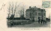 CPA 33 CAVIGNAC PRES DE BLAYE GARE DE L ETAT 1906 - Blaye