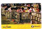 FIGI (FIJI) -  TELECOM FIJI (REMOTE) - 2001 LADIES TAPA  CODE 99111  EXP. 9.02  - USED  -  RIF. 3638 - Figi