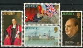 Ile De Jersey (1970) N 20 à 23 ** (Luxe) - Jersey