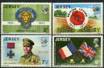 Ile De Jersey (1971) N 47 à 50 ** (Luxe) - Jersey