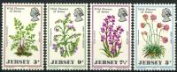 Ile De Jersey (1972) N 55 à 58  ** (Luxe) - Jersey
