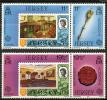 Ile De Jersey (1983) N 293 à 296 ** (Luxe) - Jersey