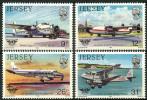 Ile De Jersey (1984) N 324 à 327  ** (Luxe) - Jersey